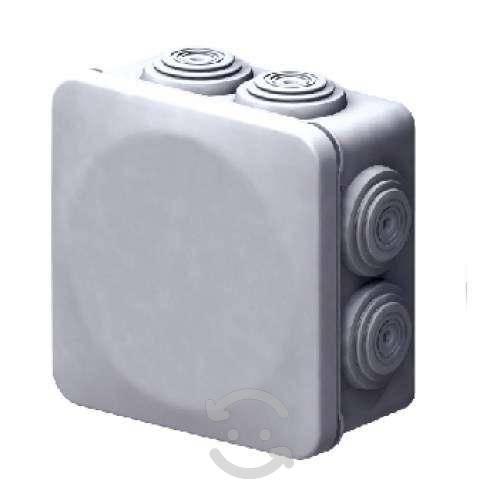20 cajas conexion cctv 80x80x45 exterior