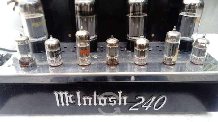 Amplificador mcintosh mc 240 hi end