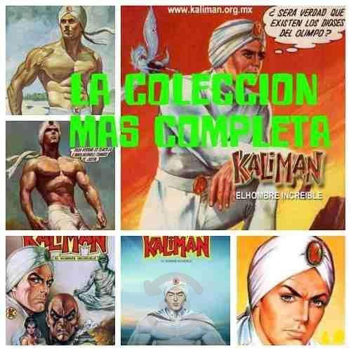 Coleccion completa de kaliman