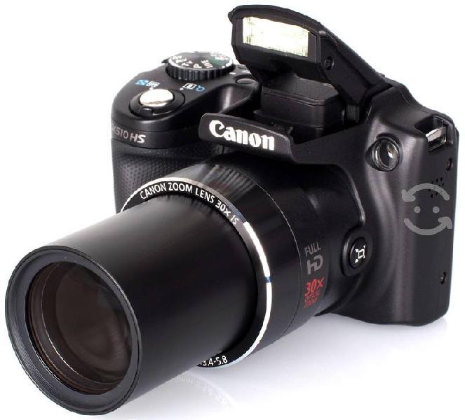 Canon sx510 hs - z. óptico 30x - 12.1 mpx - wifi