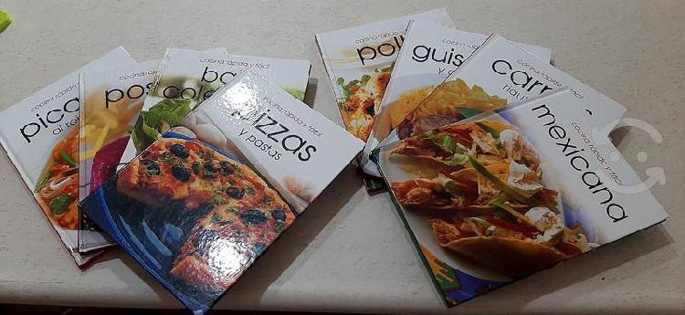 Enciclopedias de cocina rápida y facil
