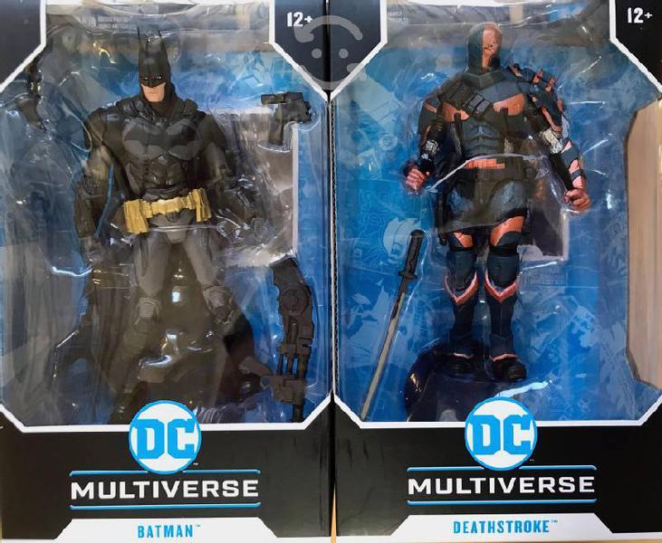 Figura batman arkham knight dc multiverse c/u