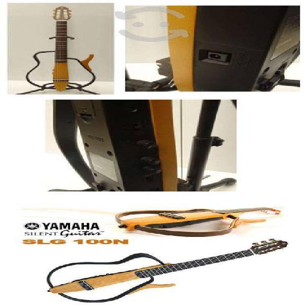 Guitarra electroacustica silent slg 100n
