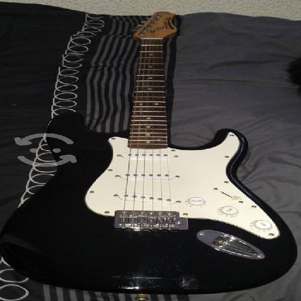 Guitarra palmer pro con afinador