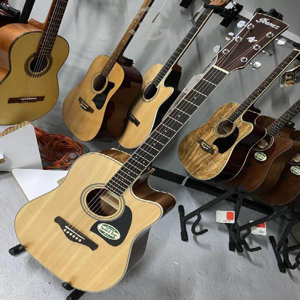 Guitarra electroacústica ibanez nueva 100%