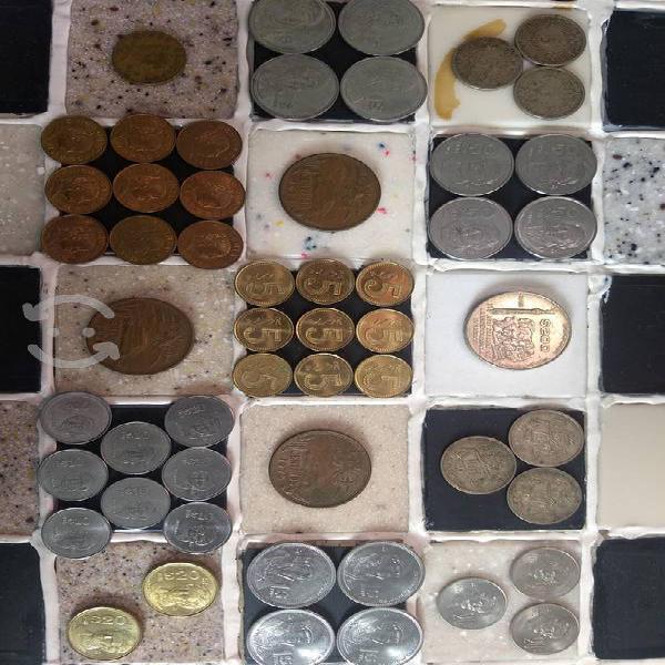 Monedas mexicanas ***** colección bonita b brillo!