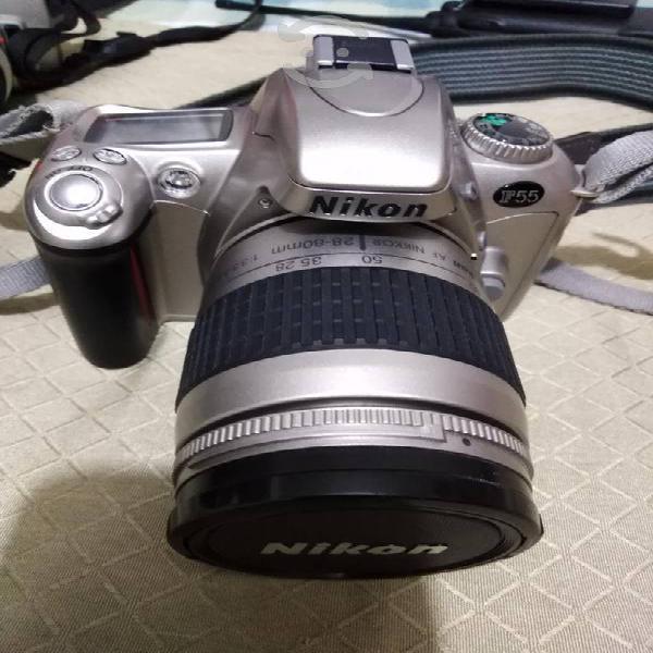 Nikon f55 japonesa, rollo 135mm