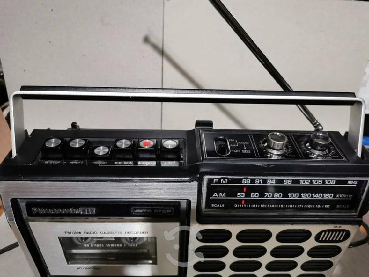 Radio grabadora panasonic, modelo rq-517s japones.
