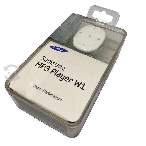 Samsung w1 reproductor de mp3 4gb blanco