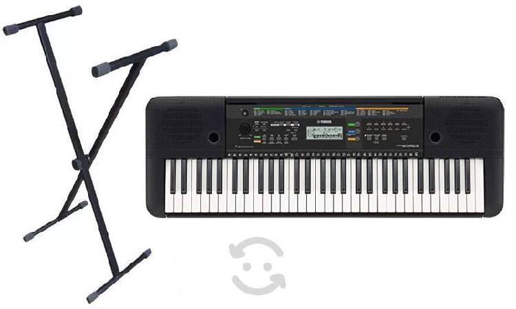 Venta de teclado yamaha psr e253, seminuevo