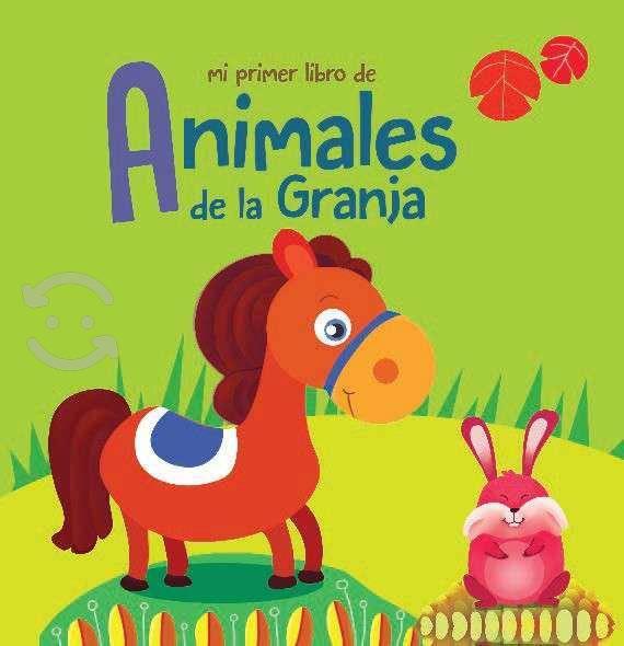 Animales de la granja libro de tela caballito