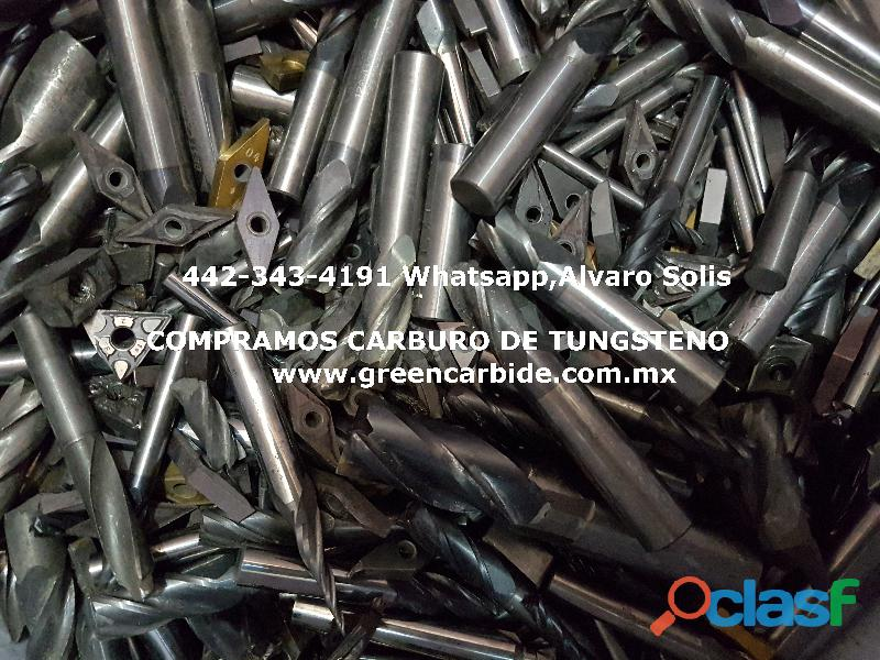 COMPRA DESPERDICIO DE CARBURO EN TIJUANA