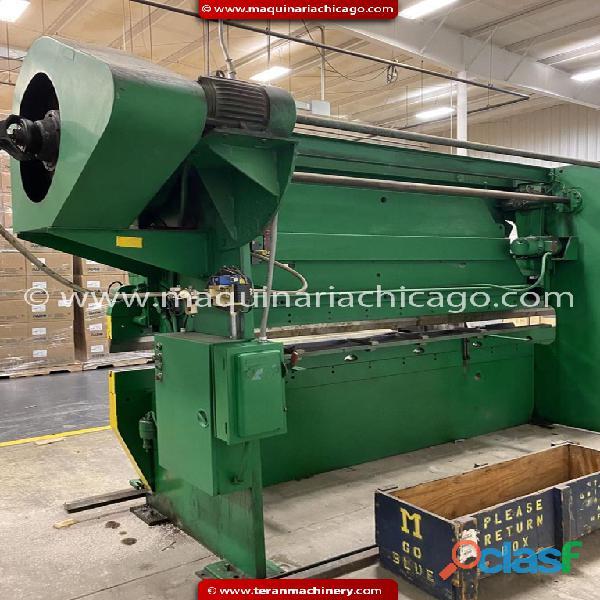 Prensa WYSONG 14' x 110 ton en venta 1