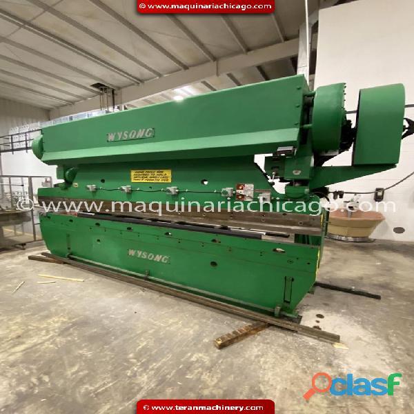 Prensa WYSONG 14' x 110 ton en venta 3