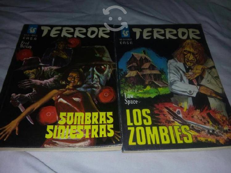 Revistas de terror 17 diferentes en español