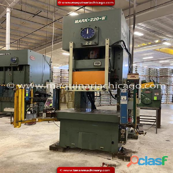 Troqueladora SEYI 220 ton en venta 2