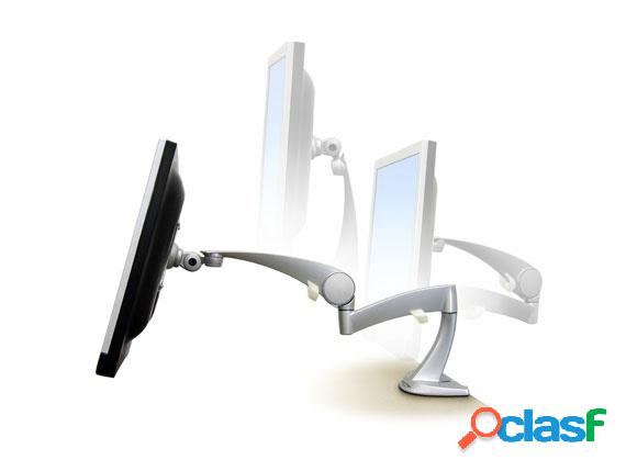 Ergotron soporte de mesa neo-flex para monitor 22'' o 8.2kgs, plata