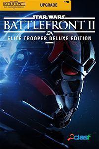 Star wars battlefront ii: elite trooper deluxe edition upgrade, xbox one - producto digital descargable