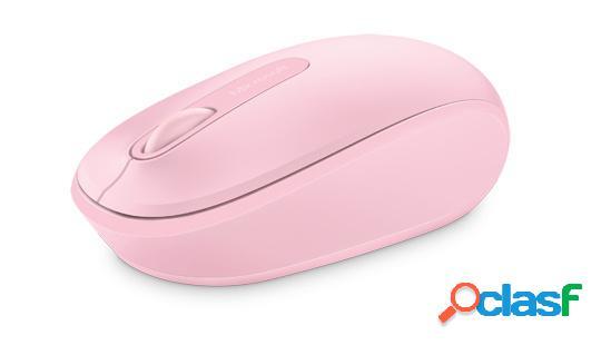 Microsoft wireless mobile mouse 1850, inalámbrico, usb, 1000dpi, rosa