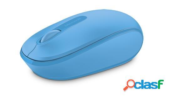 Microsoft wireless mobile mouse 1850, inalámbrico, usb, 1000dpi, azul cielo