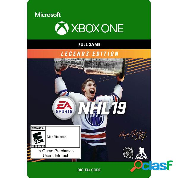 Xbox nhl 19: legends edition, xbox one - producto digital descargable