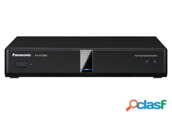 Panasonic sistema de conferencia kx-vc2000, full hd, 2x rj-45, 6x hdmi, usb 2.0