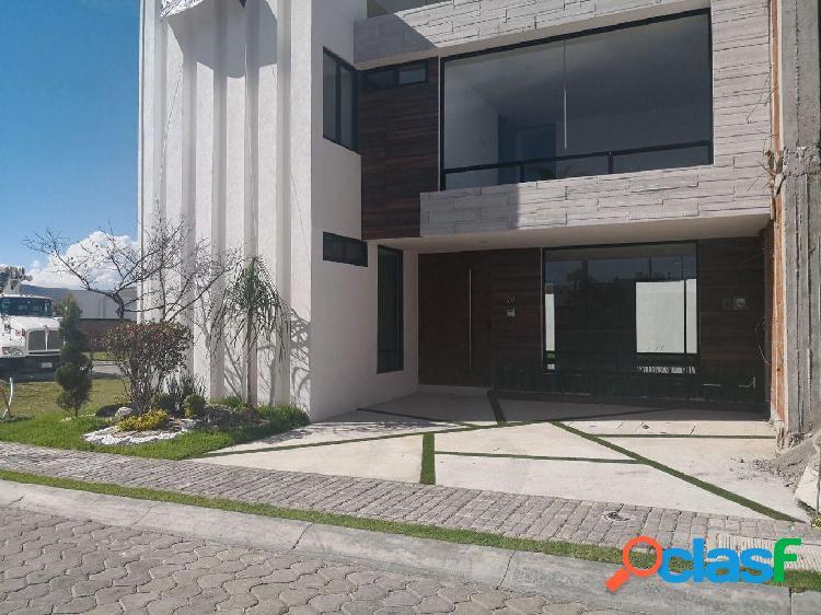 Casa en venta parque zacatecas lomas de angelopolis junto a area verde