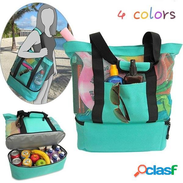 Mujer hombre multifuncional deportes picnic viaje almacenamiento bolsa bolsa de lavado bolsas de cosméticos