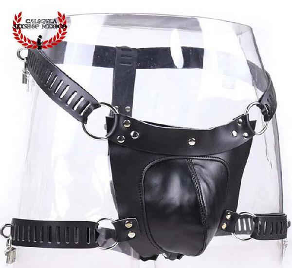 Cinturón de castidad con jaula para pene BDSM Cinturón