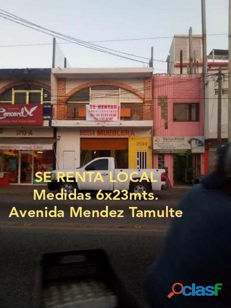 LOCAL EN AVENIDA MENDEZ TAMULTE, VILLAHERMOSA