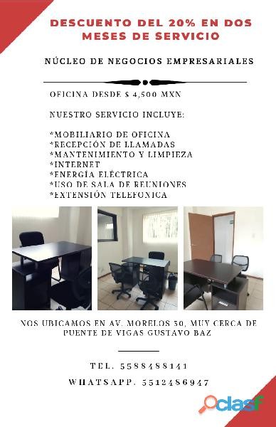 Oficinas con grandes beneficios para Ti
