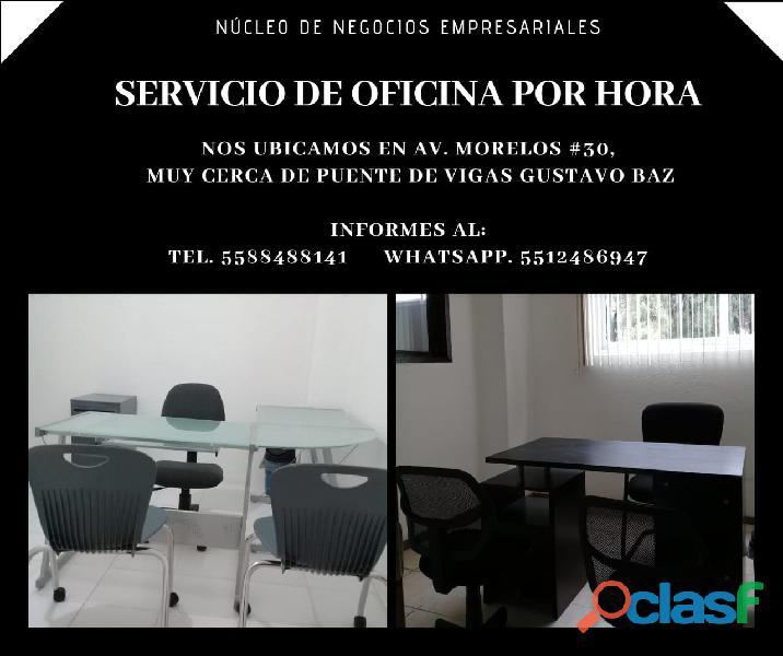 Oficinas Privadas disponibles a partir de una hora