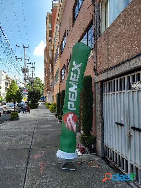 Publicidad en sky dancers sublimados en tlaxcala
