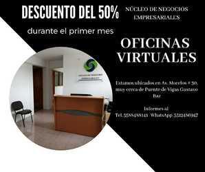Descuento en oficina virtual