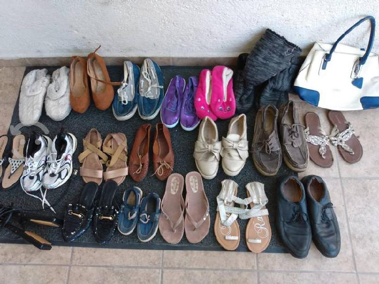 Lote zapatos y huaraches
