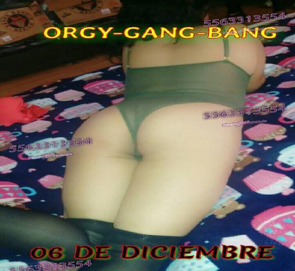 ORGY-GANG-BANG ORGY HALLOW FIESTA DE CHICAS PARA CABALLEROS
