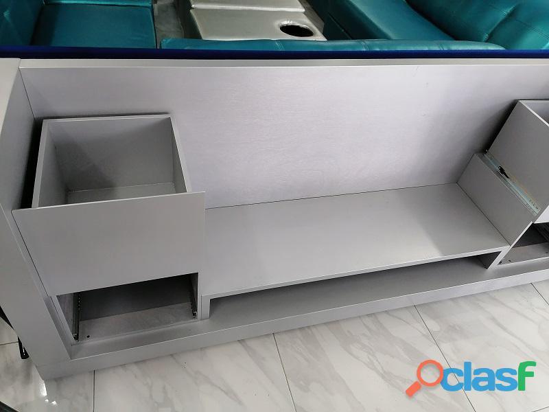 Mueble para TV color gris