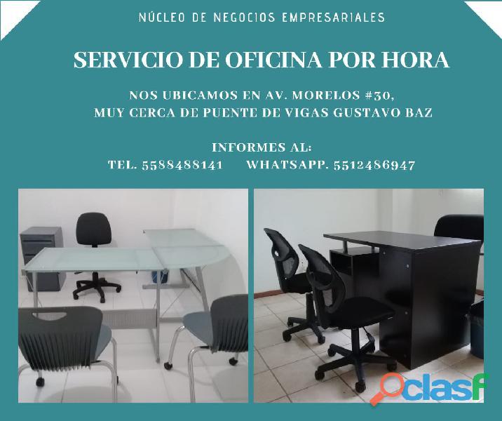 Oficinas Disponibles por hora