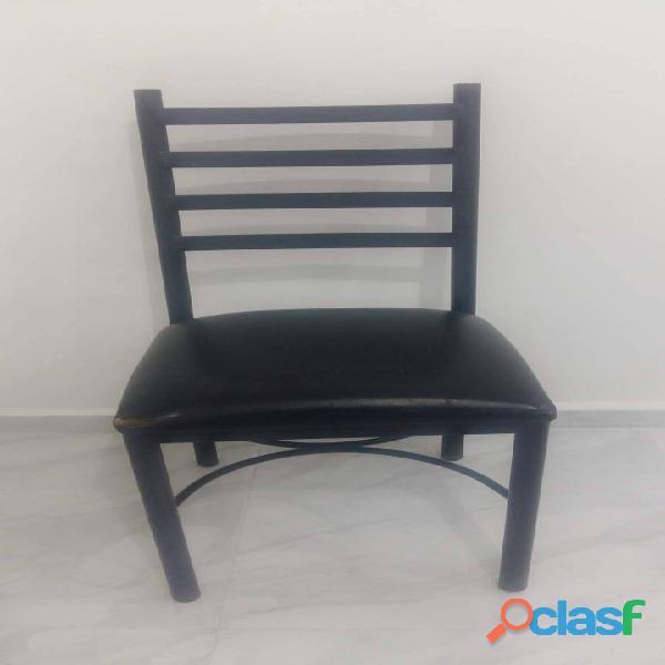 Silla para comedor color negro