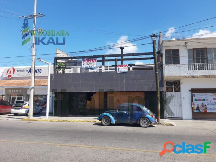 Renta local comercial 400 m² col. cazones poza rica veracruz, cazones
