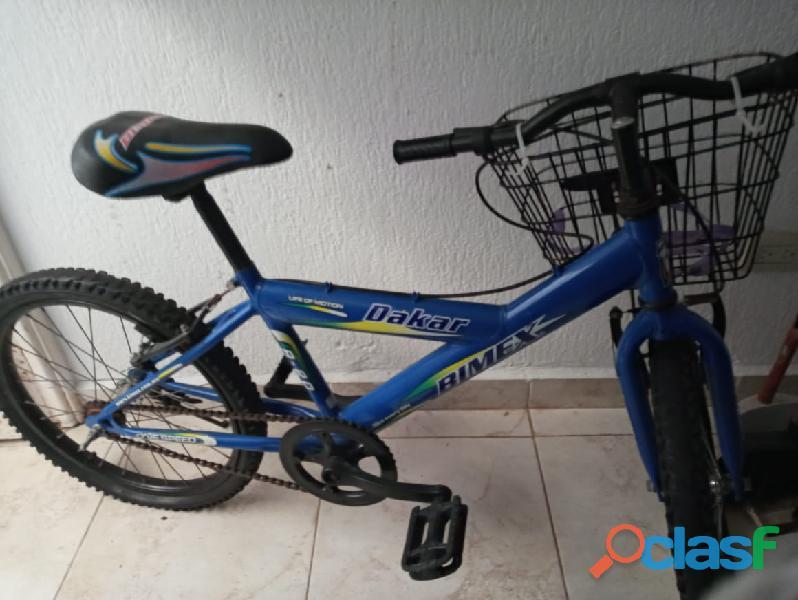 Bicicleta para niño de6 a 9 años