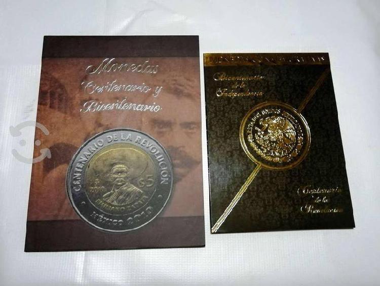 Album lleno de $5 del bicentenario y centenario!!!