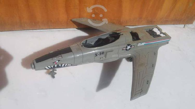 Avion x-30 gi joe cobra x30 hasbro 2002