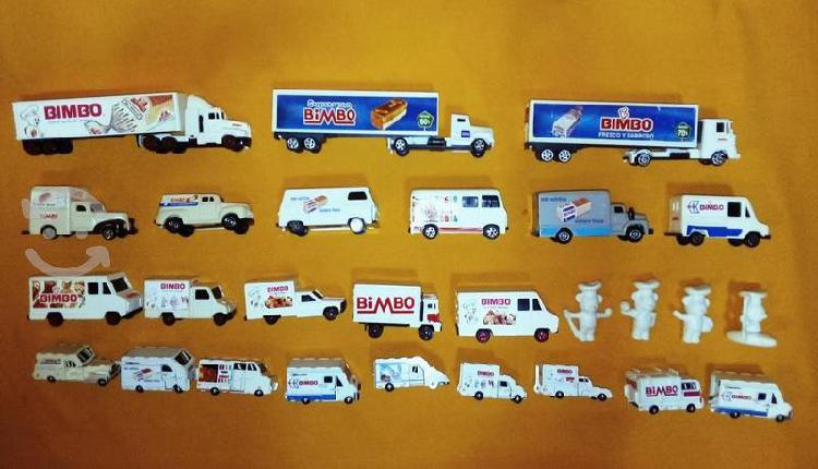 Colección carros bimbo osito tráiler 90's