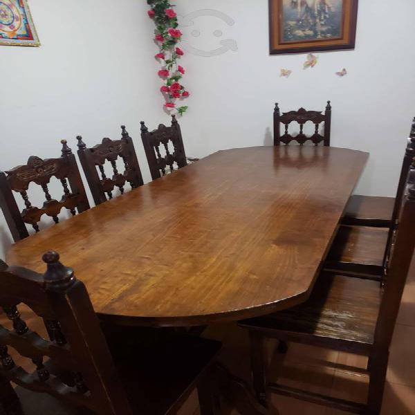 Comedor colonial 8 personas