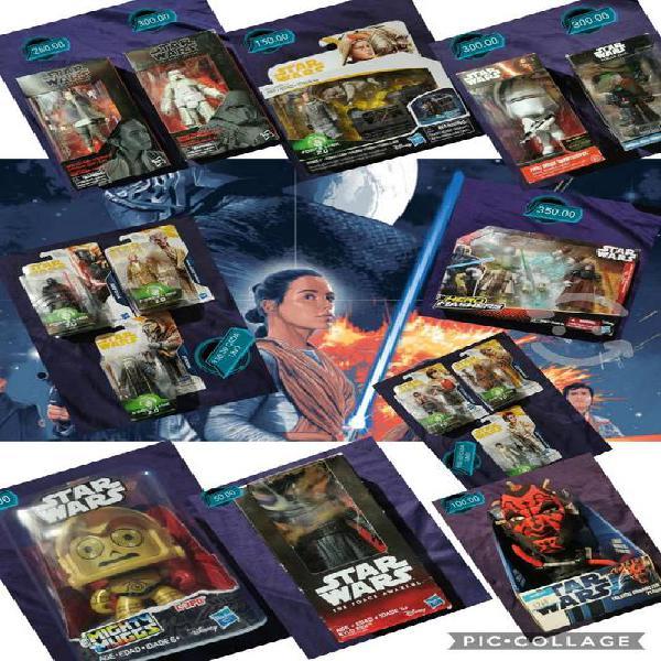 Figuras star wars precio y estado en fotos