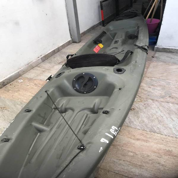 Kayak pelican verde