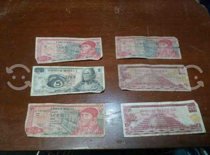 Lote de billets antiguos