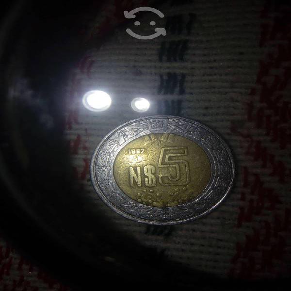 Moneda de 5 nuevos varos mamalona