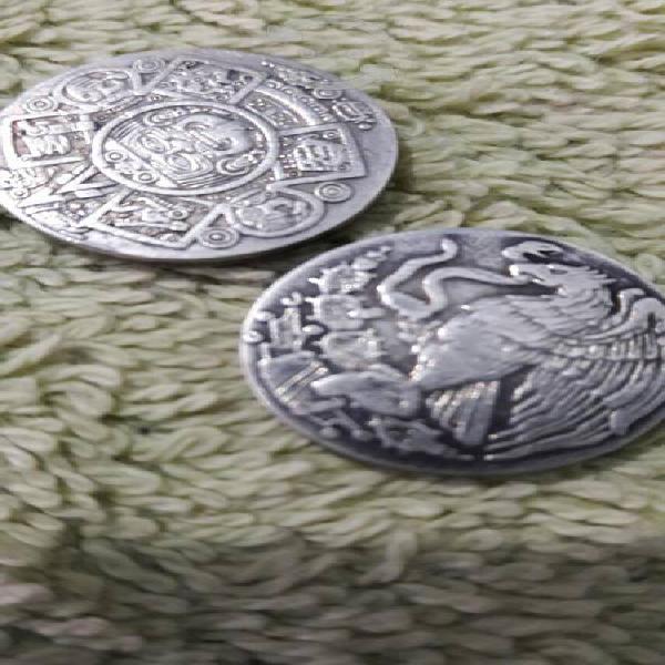 Monedas de plata pura